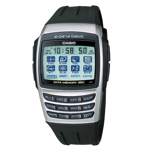 Casio EDB610 Calculator Watches - Silver u0026 Black - FREE SHIPPING!